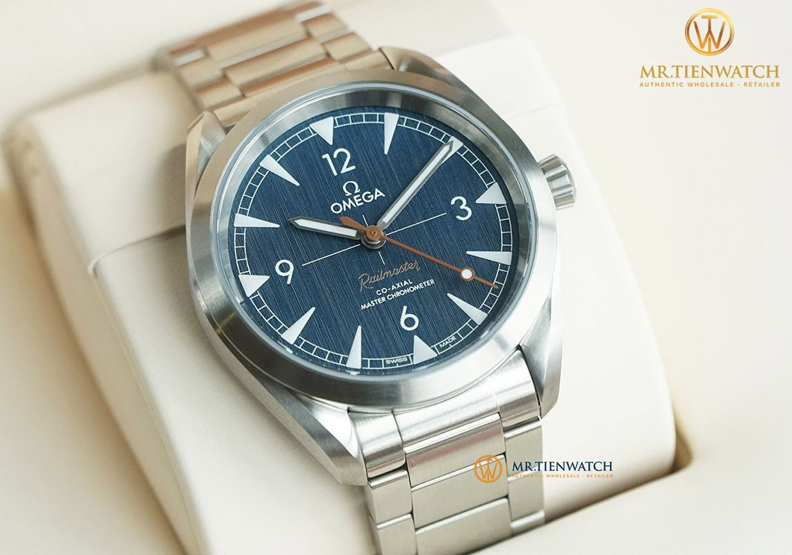 [Quick Review] OMEGA SEAMASTER RAILMASTER CO‑AXIAL MASTER CHRONOMETER 40 MM 220.10.40.20.03.001